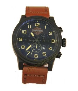 Relógio Réplica Harley Davidson Black