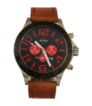 Relógio Réplica Harley Davidson Ceramica Red