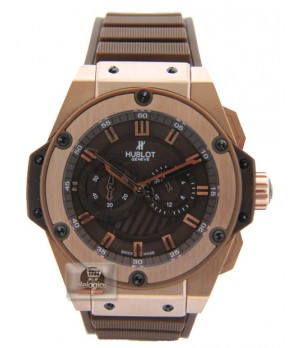 Relógio Réplica Hublot King Power Chocolate