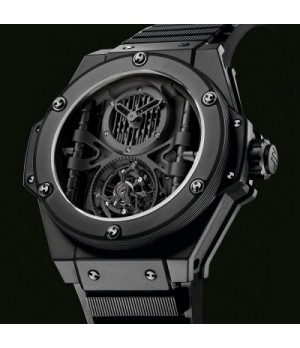 Relógio Réplica Hublot King Power All Black Ediiton Limited