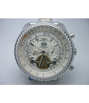 Réplica Breitling Bentley Motors White Turbillon