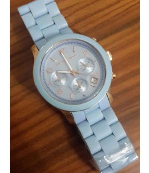Relógio Réplica Michael Kors Azul Claro