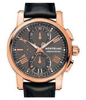 10607c5df9d Espiar · Relógio Réplica Montblanc Chronometer Rose Black