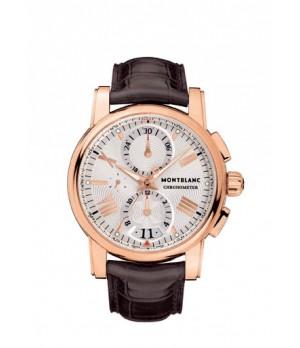 97bd781dd06 Espiar · Relógio Réplica Montblanc Chronometer Rosê White