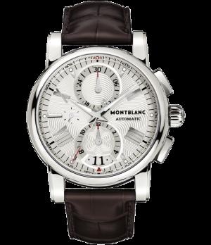 f5f37528433 Espiar · Relógio Réplica Montblanc Chronometer White