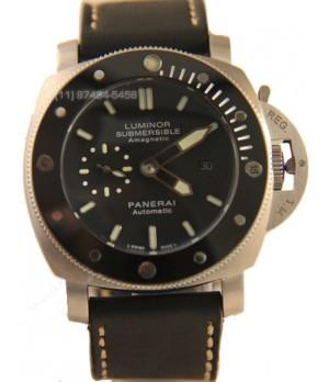 Relógio Réplica Panerai Submersible Cerâmica Black