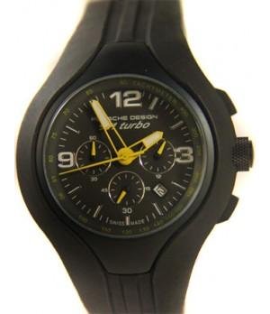 Relógio Réplica Porsche Design 911 Turbo Black Yellow