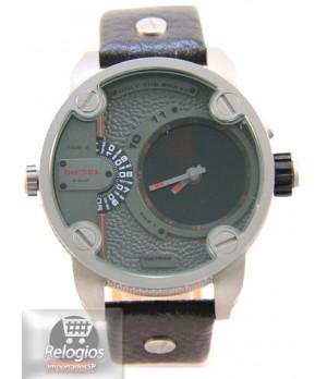 30f3d85078c Espiar · Relógio Réplica Diesel Dz7222 Radar Titanium Black
