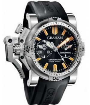 Relógio Réplica Graham Chronofighter Oversize Diver