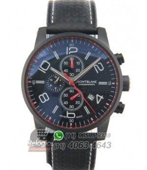 Relógio Réplica Montblanc Chronograph Black Red