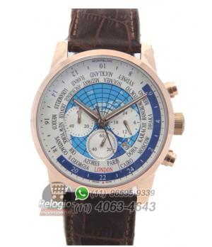 Relógio Réplica Montblanc Chronograph Mundial