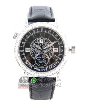Relógio Réplica Patek Philippe Esquelete Geneve