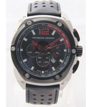 24b989c32fa Espiar · Relógio Réplica Porsche Design Limited Edition Black Red (  Promoção )