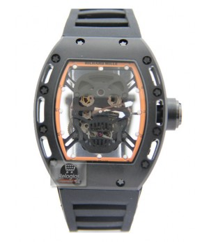 Relógio Réplica Richard Mille Edition Limted Black Orange