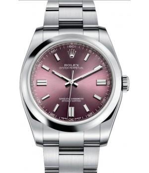 Relógio Réplica Rolex Oyster Perpetual Purple