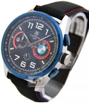 6af7d8065ea Espiar · Relógio Réplica Tag Heuer Carrera Bmw Gmt