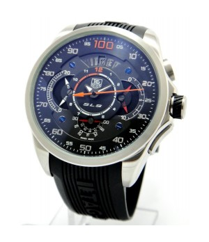 fd6f139bda9 Espiar · Relógios Réplica Tag Heuer Carrera Mercedez Slr Laranja