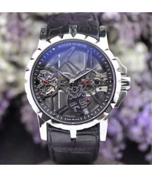 9d33d171f85 Espiar · Relógio Réplica Roger Dubuis Esquelete Preto New