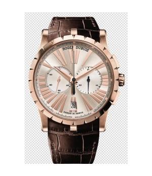 Relógio Réplica Roger Dubuis Excalibur Chronograph Rosê