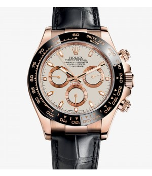 Relógio Réplica Rolex Cosmograph Daytona Everose Gold