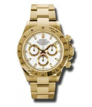 Relógio Réplica Rolex Daytona Dourado Branco