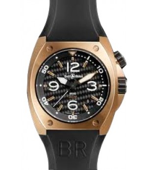 Relógio Bell & Ross BR2 Pink Gold
