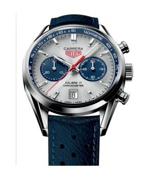 Relógio Réplica Tag Heuer Carrera 17 Titanium New Blue