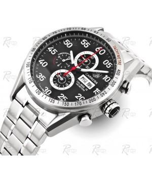 2b236a317a0 Espiar · Relógio Réplica Tag Heuer Carrera Calibre 16 Day Date Black