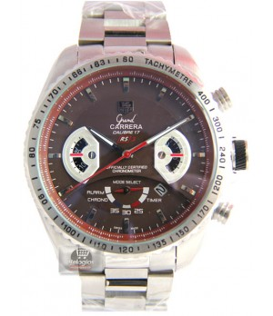 91d89515e17 Espiar · Relógio Réplica Tag Heuer Carrera Calibre 17 Rs3 Marrom