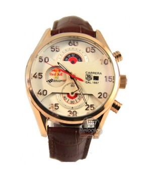 Relógio Réplica Tag Heuer Carrera Racing Red Bull