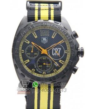 Relógio Réplica Tag Heuer Formula 1 Cr7 Cristiano Ronaldo