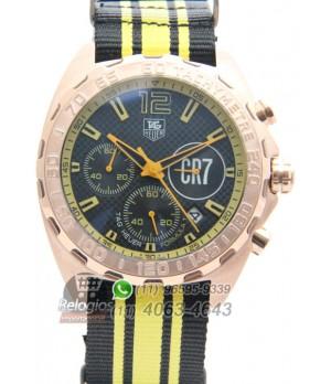 59d6b50ebea Espiar · Relógio Réplica Tag Heuer Formula 1 Cr7
