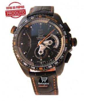 fe205ca8d79 Espiar · Tag Heuer Grand Carrera 36Rs Limited Edition Orange Réplica