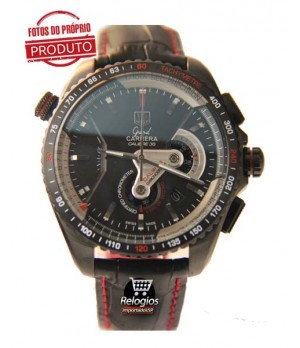 Réplica Tag Heuer Grand Carrera 36Rs Limited Edition Red