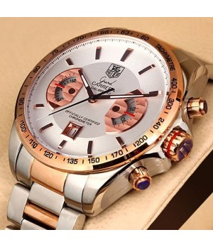 Relógio Réplica Tag Heuer Grand Carrera Calibre17 Rose