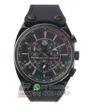 dc33de98441 Espiar · Relógio Réplica Tag Heuer West Mclaren Mercedes 2015 Black