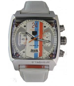 Relógio Réplica Tag Heuer Monaco 24 Branco