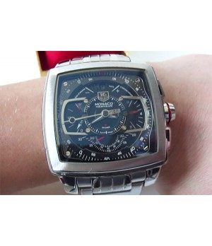 replica de relógio Tag Heuer Monaco miKrograph