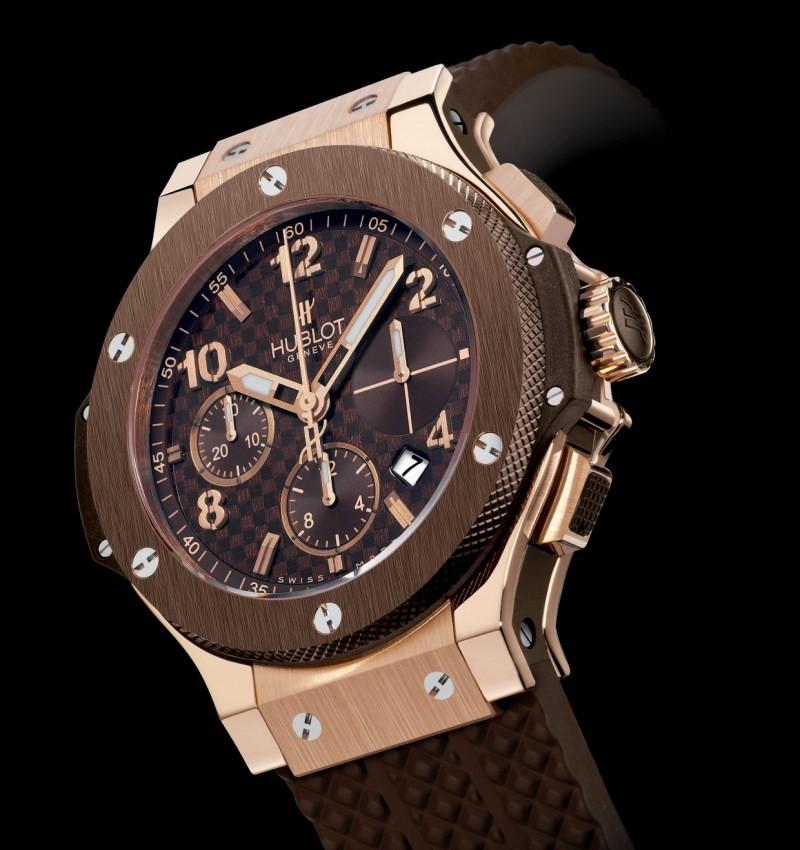 Relógio Réplica Hublot Geneve Chocolate