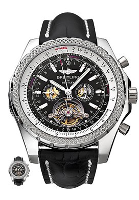Relógio Réplica Breitling Turbillon Black