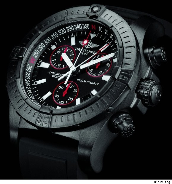 Relógio Réplica Breilting Avenger Titanium - New