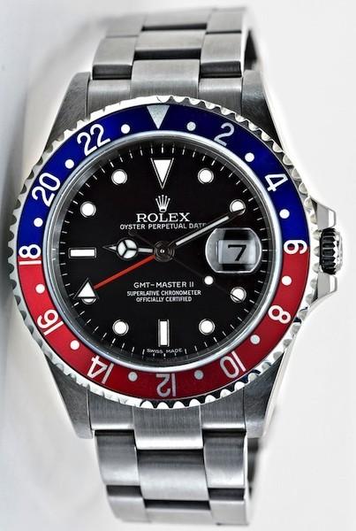 Relógio Réplica  Rolex GMT Master II
