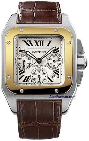 Relógio Réplica Cartier Santos 100