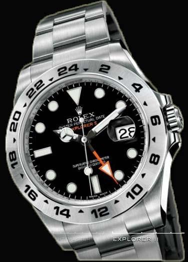 Relógio Réplica Rolex Daytona Explorer II