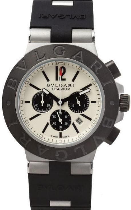 Relógio Réplica Bulgari Titanium White
