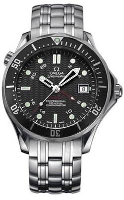 Relógio Réplica Omega Seamaster GMT II 02