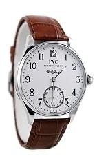 Relógio Réplica IWC White Dial