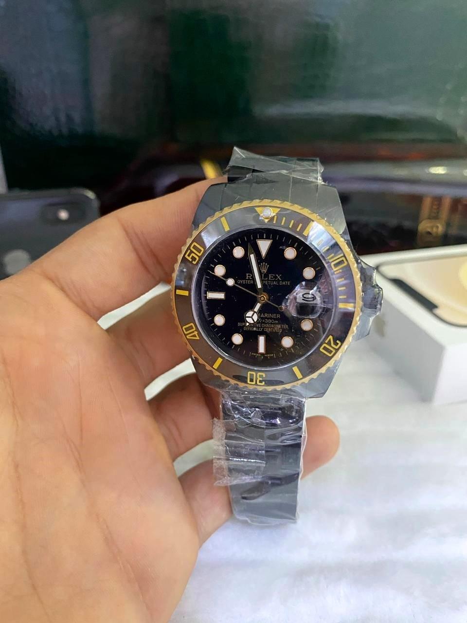 Relógio Réplica Rolex Black Cerâmica