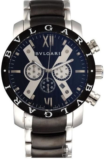 Relógio Réplica Bulgari Iro Man Black