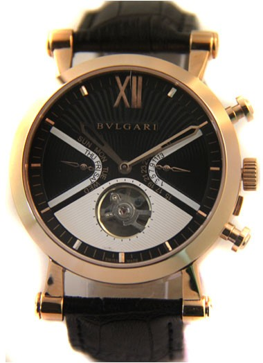 Relógio Réplica Bulgari Sotiro Gold Black